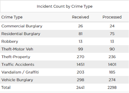 Crime Audit Report 3