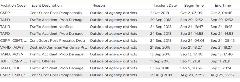 Crime Audit Report 5