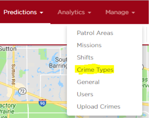 Crime types 1